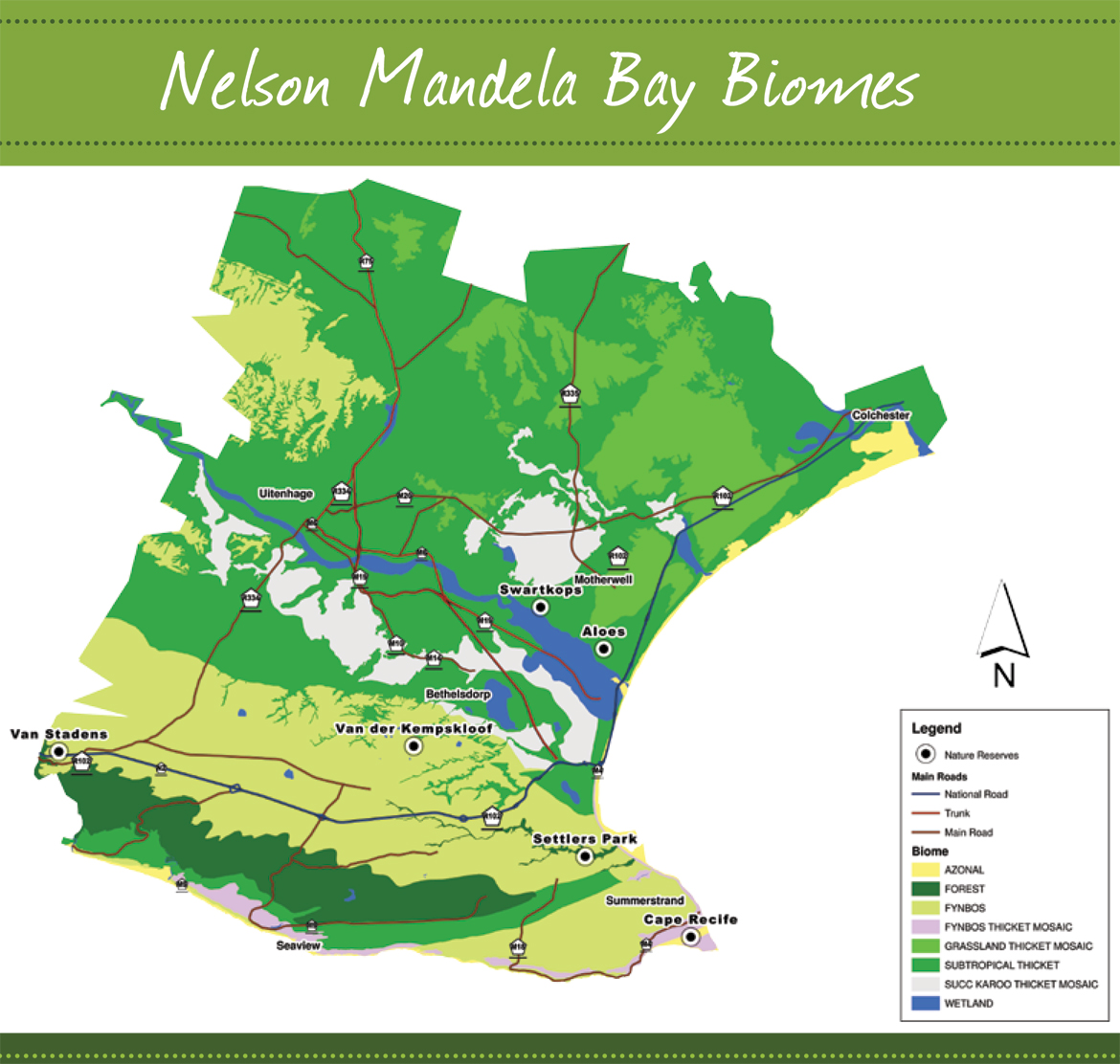 5 biome city nelson mandela bay port elizabeth 5 biome city map gumiabroncs Images