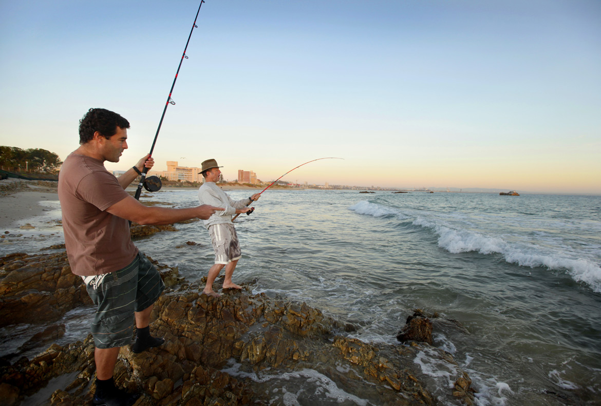 Fishing in Nelson Mandela Bay - Port Elizabeth