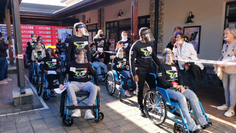 Ninth Wheelchair Wednesday campaign launched on Mandela Day