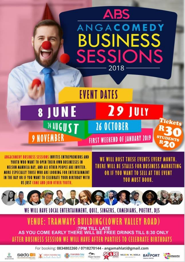 AngaComedy Business Session