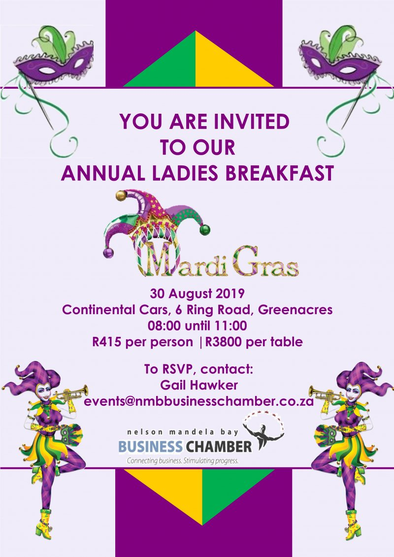Business Chamber Annual Ladies Breakfast