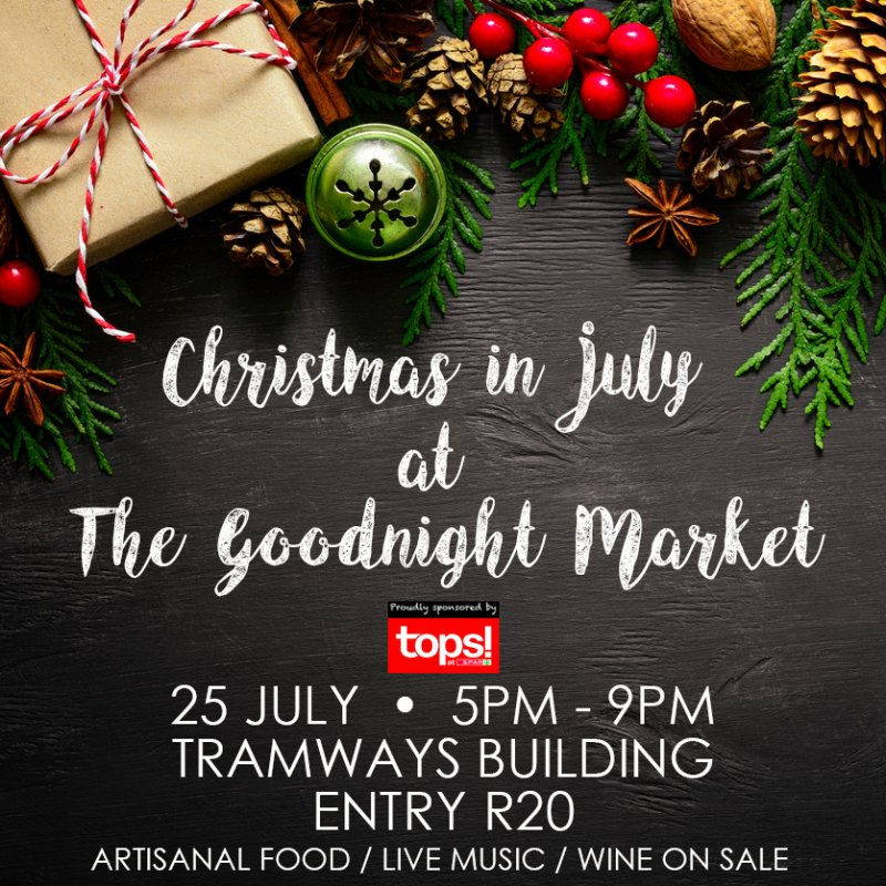 Christmas in July at The Goodnight Market