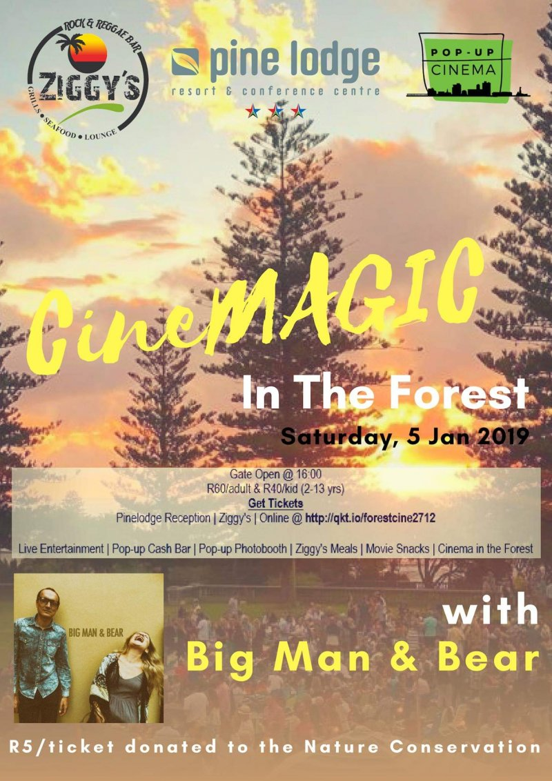 CineMAGIC In The Forest with Big Man & Bear