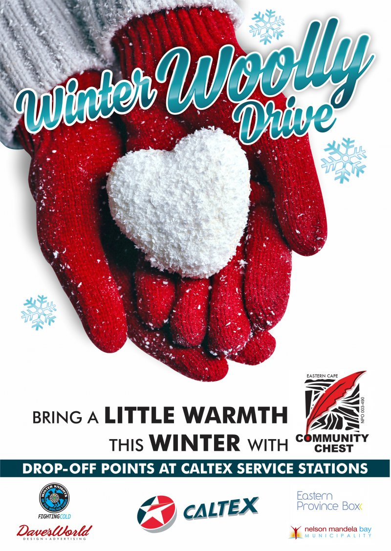 Community Chest Winter Woolly Drive 2017