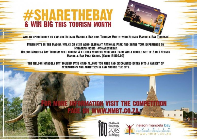 #SHARETHEBAY & WIN BIG THIS TOURISM MONTH