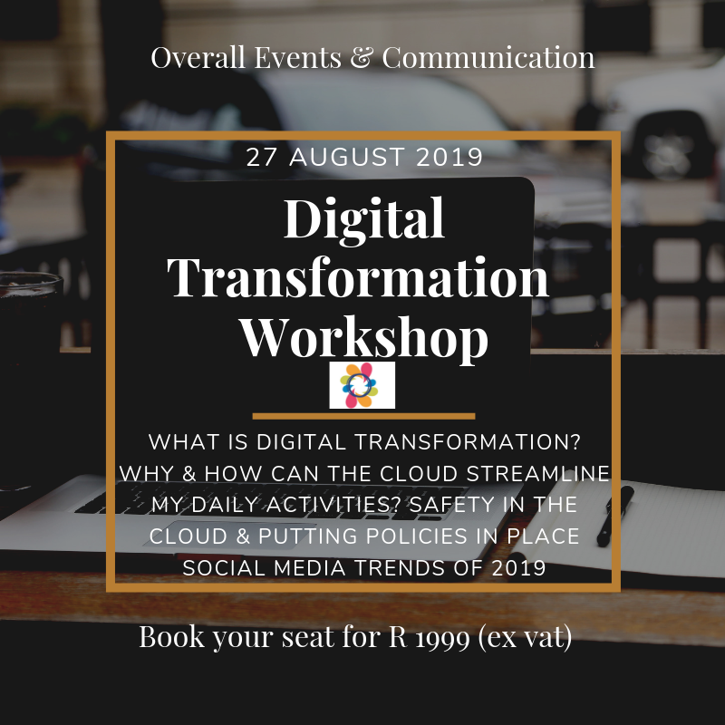 Digital Transformation Workshop Port Elizabeth