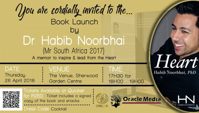 Dr Habib Noorbhai - Mr South Africa - Heart Book Launch