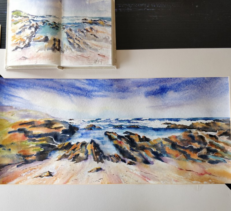 "East Cape Watercolour Association - ""Plein Aire"" drawing and painting"