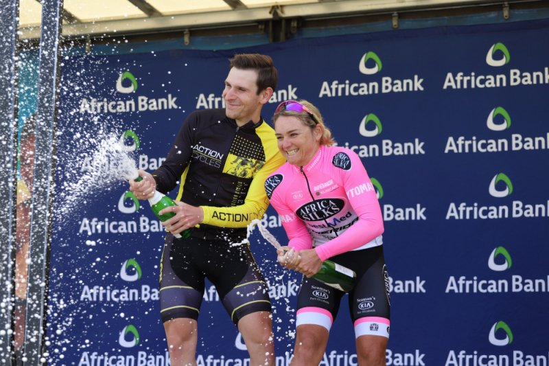 Gouveris, Schoeman lead the way in Lorraine Cycle Tour