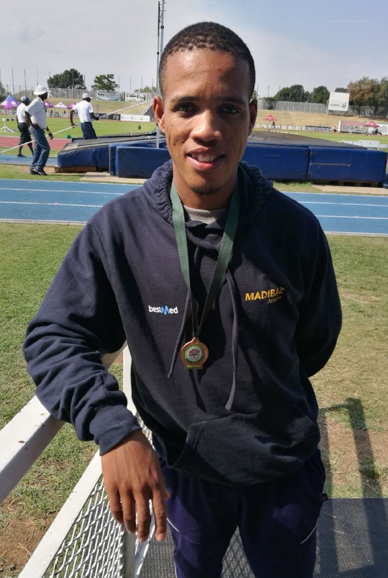 Hard work pays dividends for Madibaz athlete