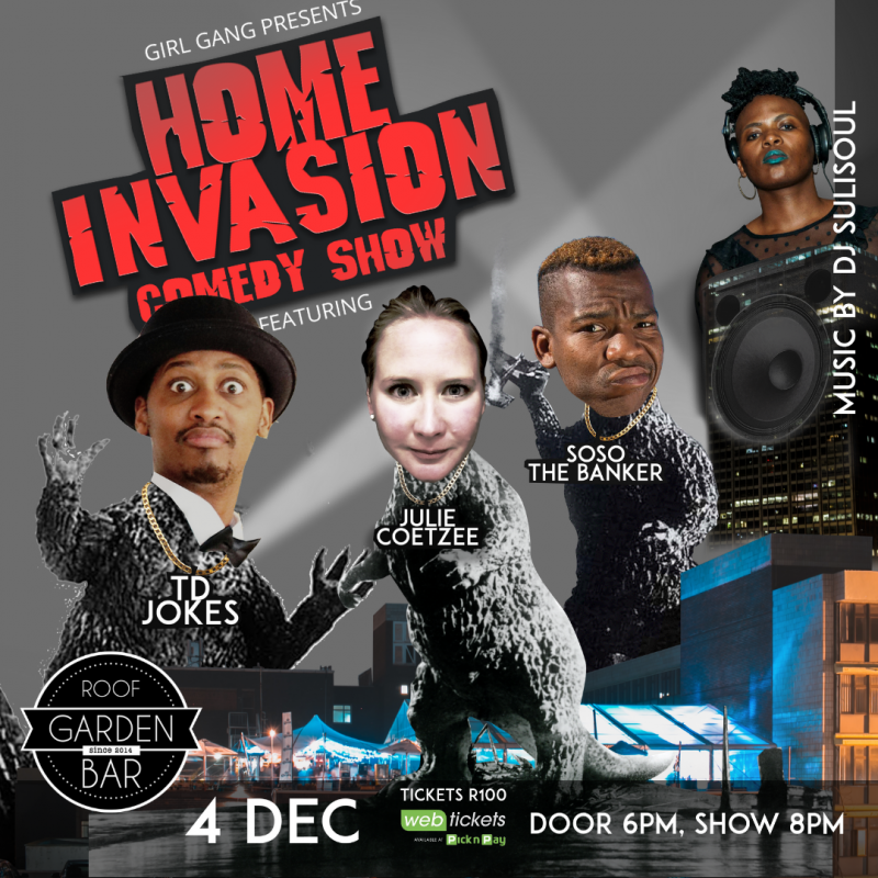 Home Invasion Comedy Show