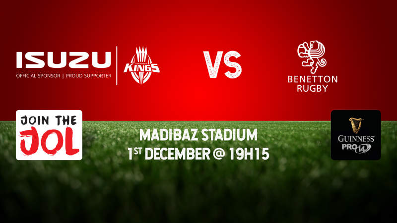 Isuzu Southern Kings vs Benetton Rugby