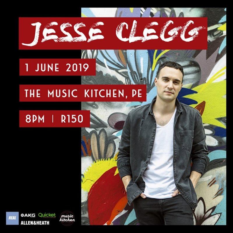 Jesse Clegg live at The Music Kitchen