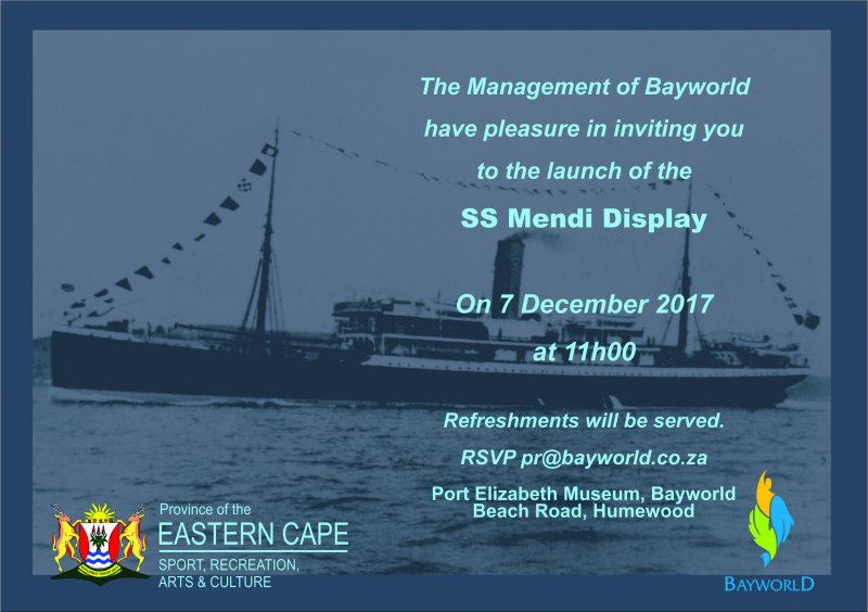 Launching of the SS Mendi Display