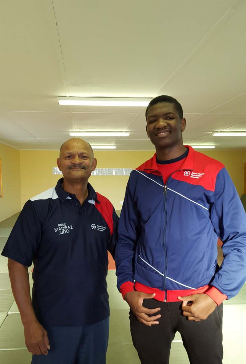 News Article Major Judo Challenge For Mapitiza Nelson
