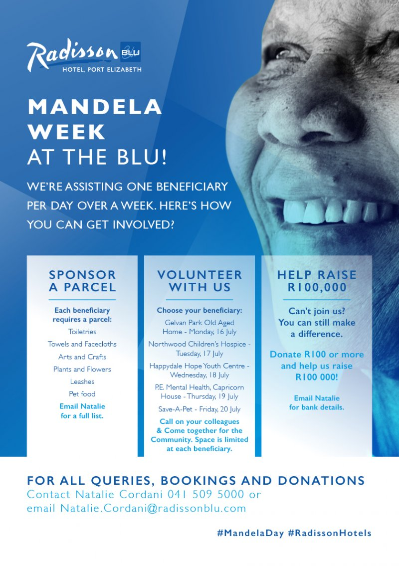 Mandela Week at the Blu
