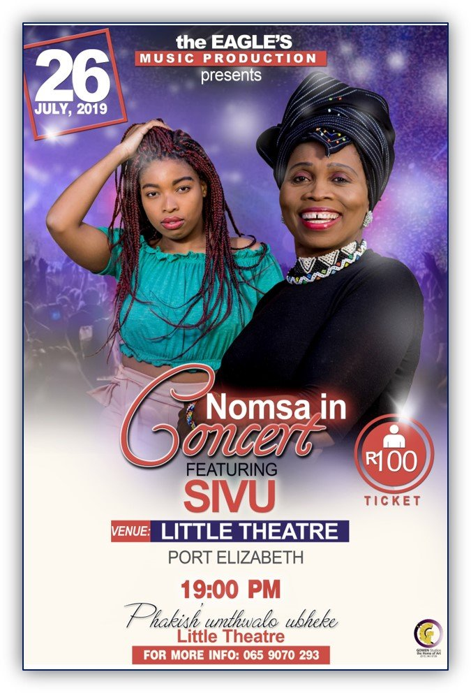 NOMSA LAUNCHES A MUSIC SINGLE