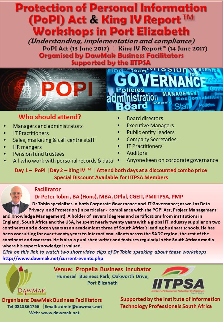 popi act south africa 2017 pdf