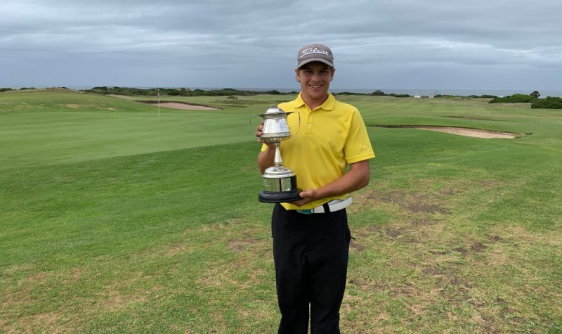 Relaxed approach underlines Madibaz student's golf success