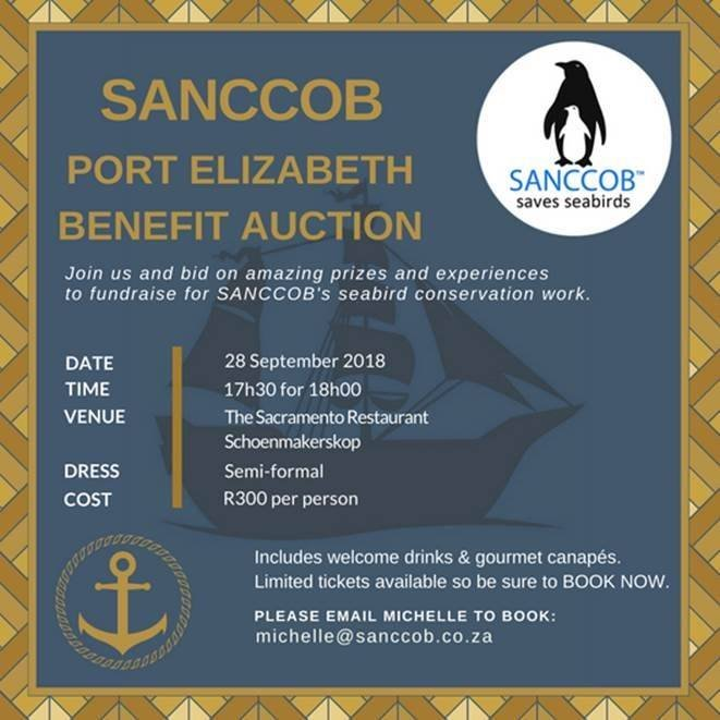 SANCCOB Port Elizabeth Benefit Auction