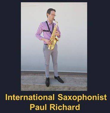 Saxophone Lunch Hour Concert with Paul Richard