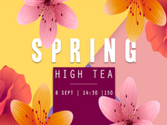 Spring High Tea at The Beach Hotel