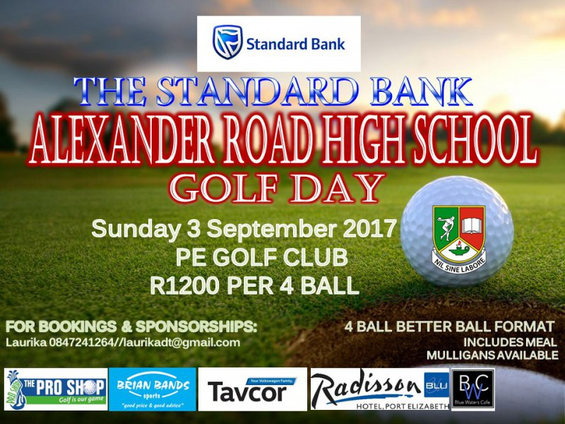 Standard Bank Alexander Road High School Golf Day