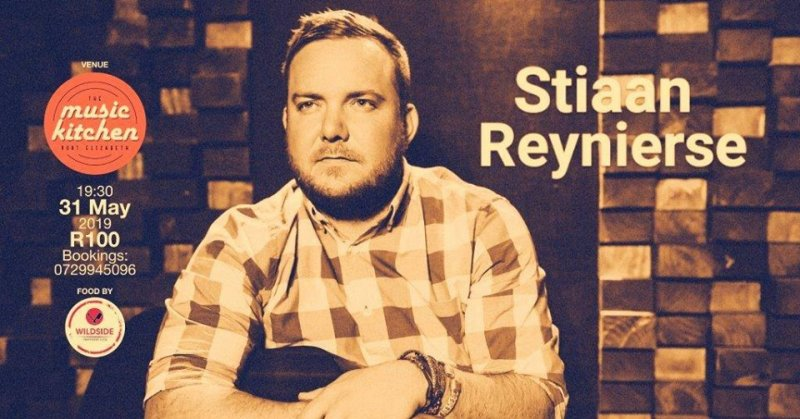 Stiaan Reynierse live at the Music Kitchen
