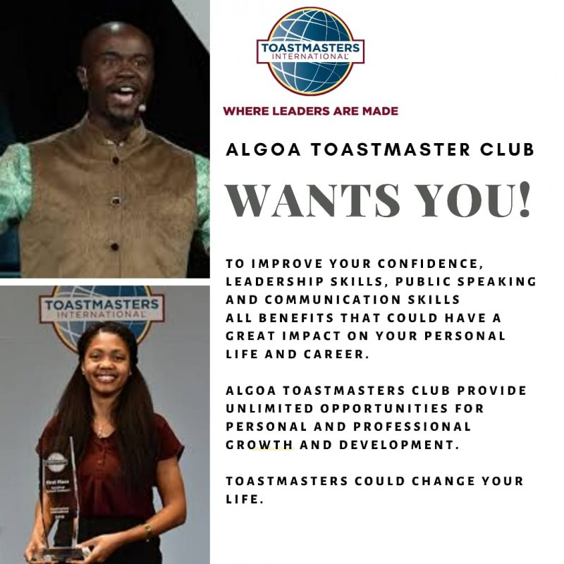 The AlgoaToastmasters Club