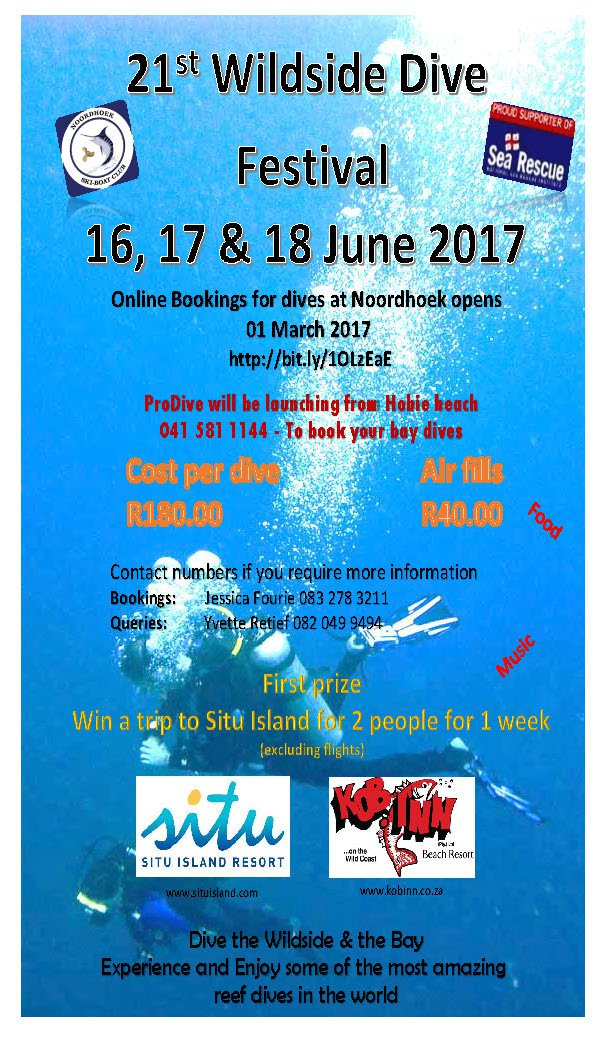 Wildside Dive Festival