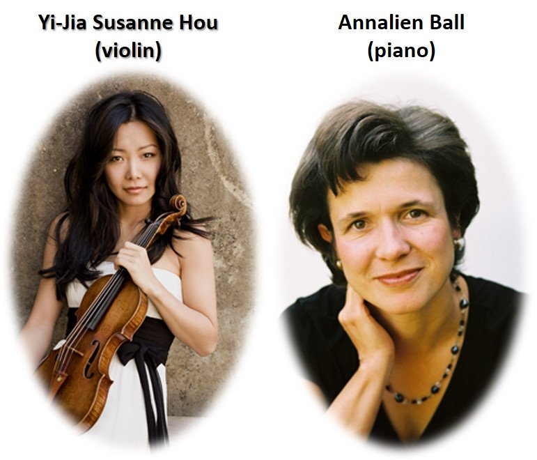 Yi-Jia Susanne Hou (violin) and Annalien Ball (piano)