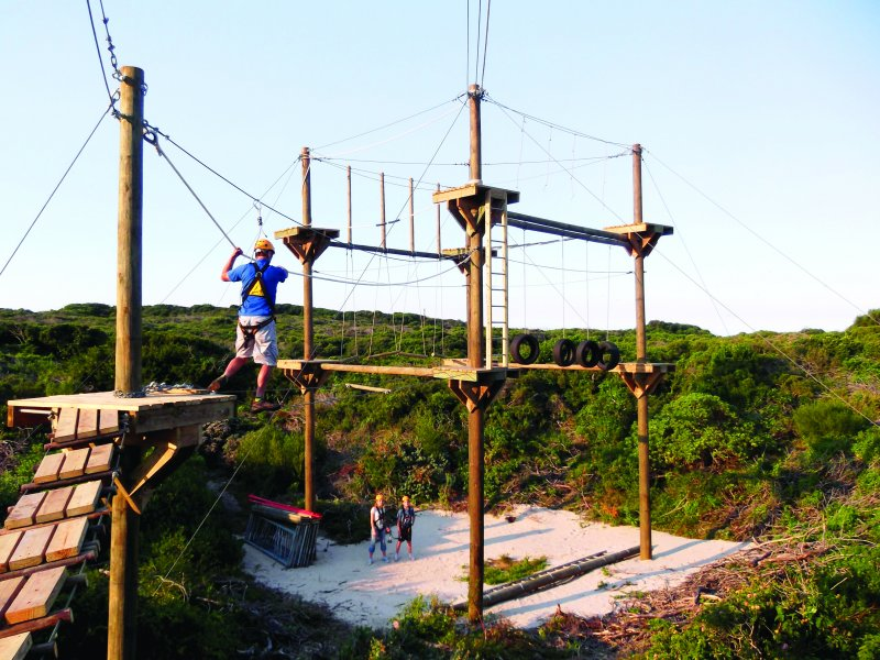 Zipline and High Ropes Experience-2