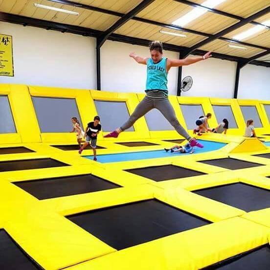 gravity indoor trampoline park